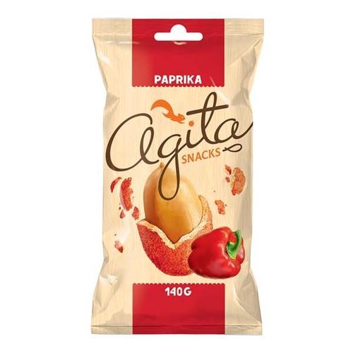 """ხრაშუნა არაქისი """"Agita"""" წიწაკით 140გრ."""