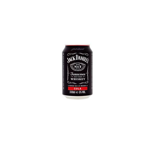 """სასმელი """"Jack Daniels & COLA"""" 330მლ."""