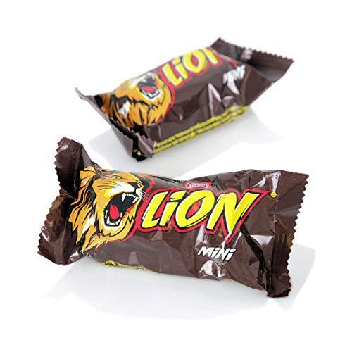 """შოკოლადის ბატონი """"Nestle"""" LION მინიბისკვიტი 198გრ"""
