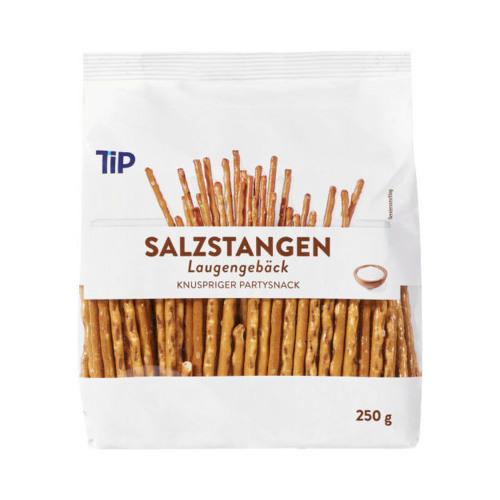 "Salted sticks ""TIP"" 250 g."