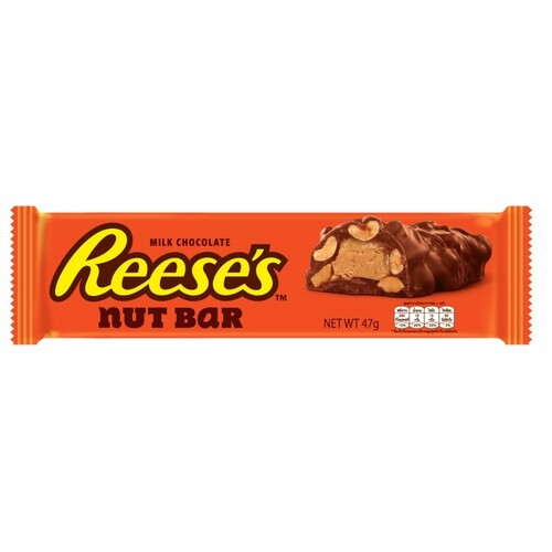 """chocolate and nut bar """"Reese's"""" with peanut butter 47 g."""