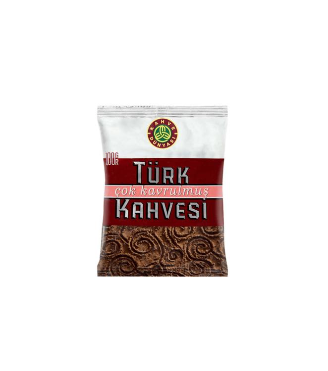 """თურქული ყავა """"Türk Kahvesi"""" კარგად მოხალული 100გრ."""