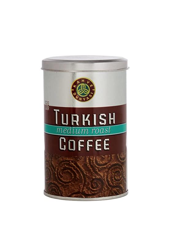"""თურქული ყავა """"Türk Kahvesi"""" საშუალოდ მოხალული 250გრ."""