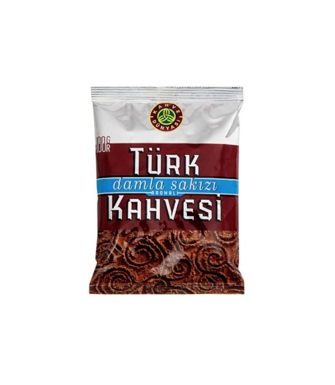 """თურქული ყავა """"Türk Kahvesi"""" დაფქვილი 100გრ."""