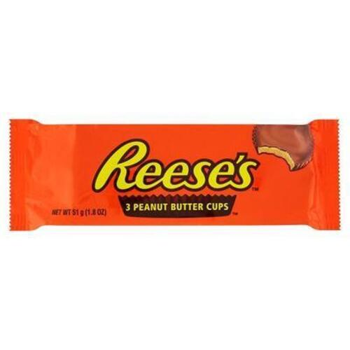"""peanut butter cups """"Reese's"""" 51 g."""