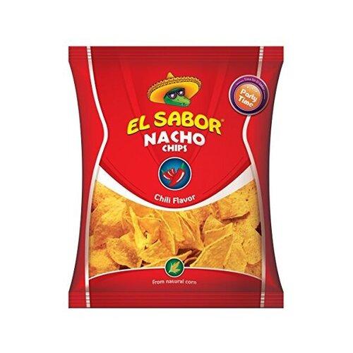 """ნაჩო ჩიფსი """"EL SABOR"""" ჩილი 225გრ."""
